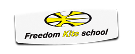 freedom kite school publicidad